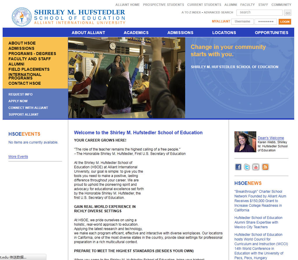Alliant International University San Diego Hufstedler School of Education