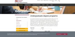 Arizona State University Undergraduate Business