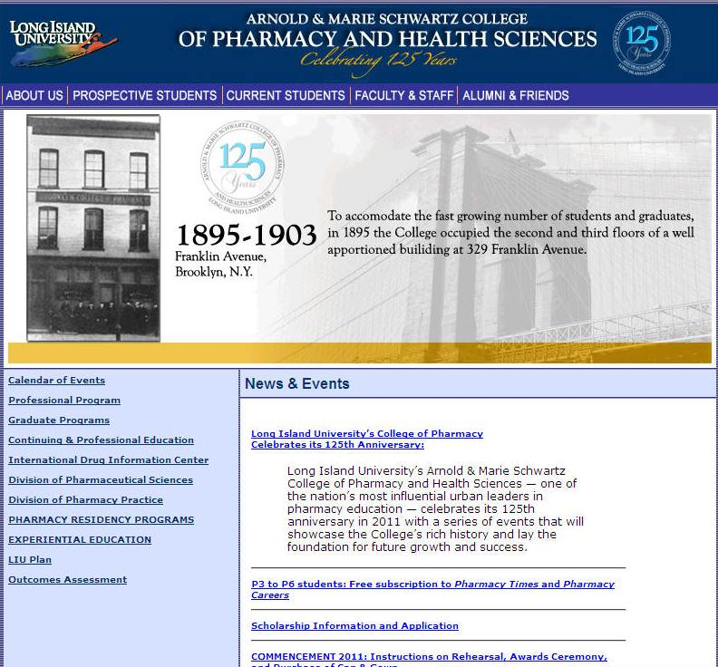 Arnold Marie Schwartz College of Pharmacy and Health Sciences