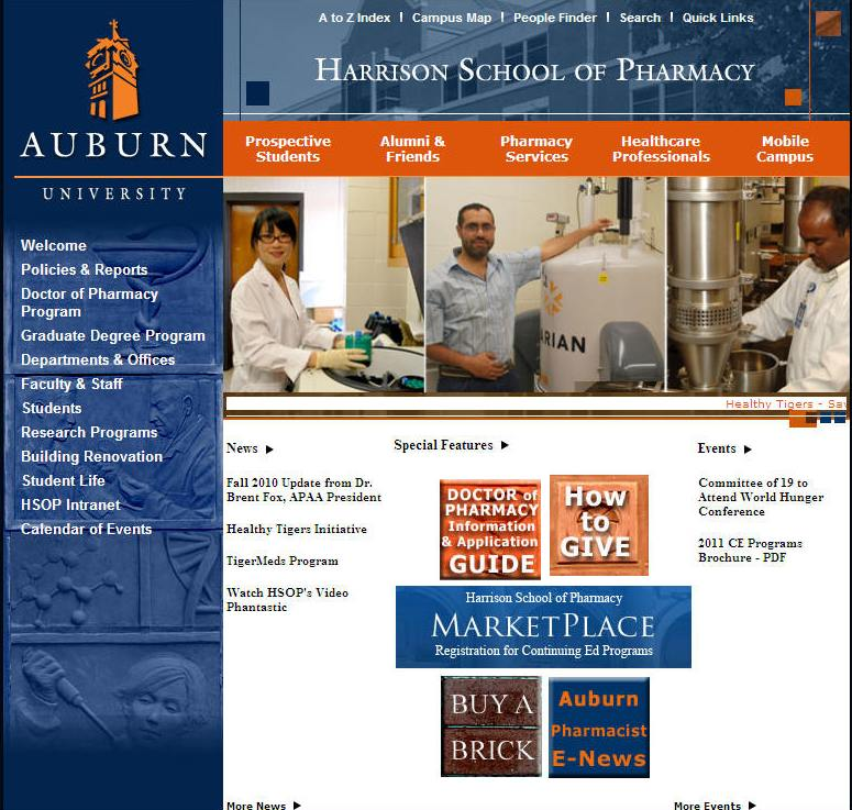 Auburn University Harrison School of Pharmacy