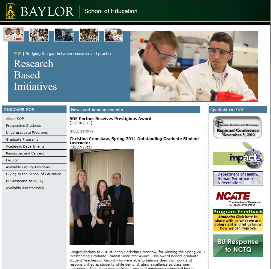 Baylor University School of Education