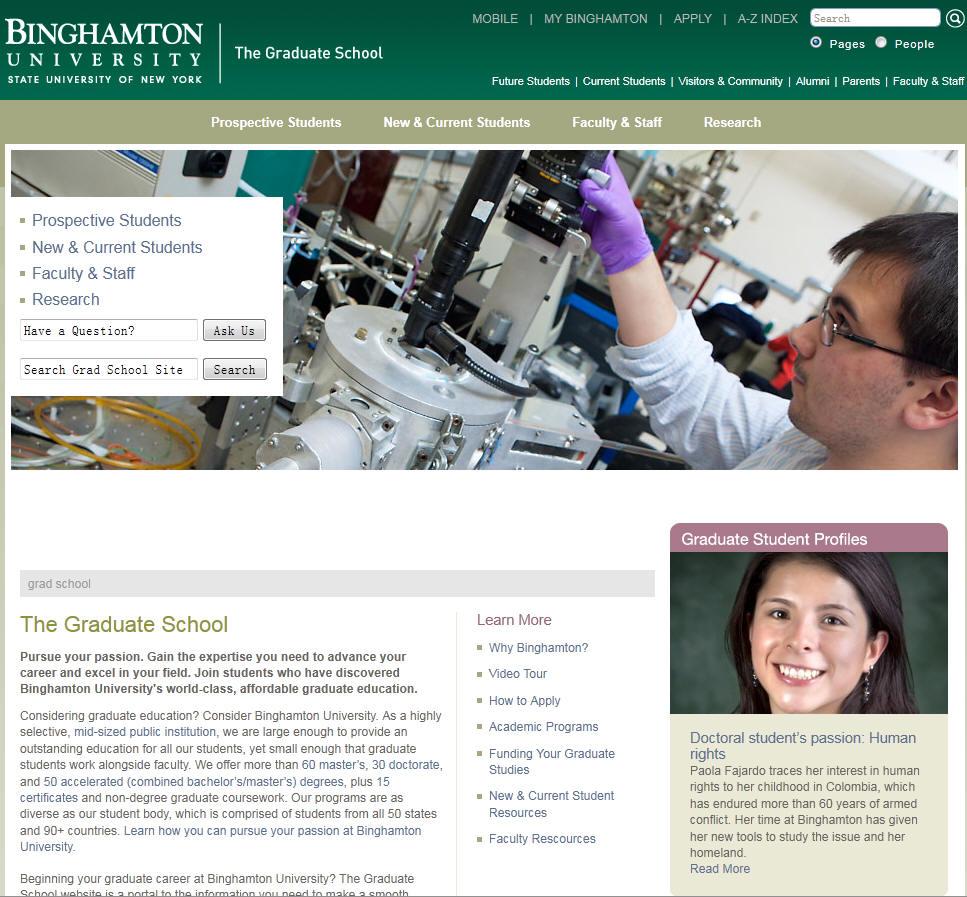 Binghamton University–SUNY School of Graduate Education