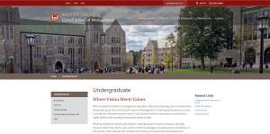 Boston College Undergraduate Business