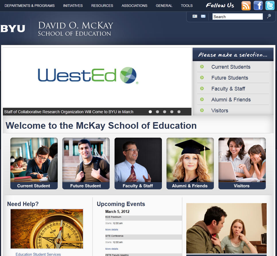 Brigham Young University Provo McKay School of Education