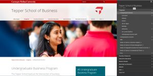 Carnegie Mellon University Undergraduate Business