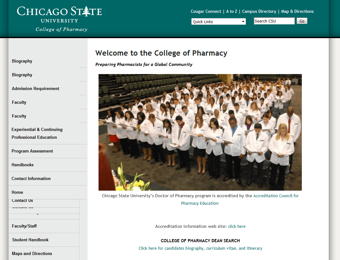 Chicago State University College of Pharmacy