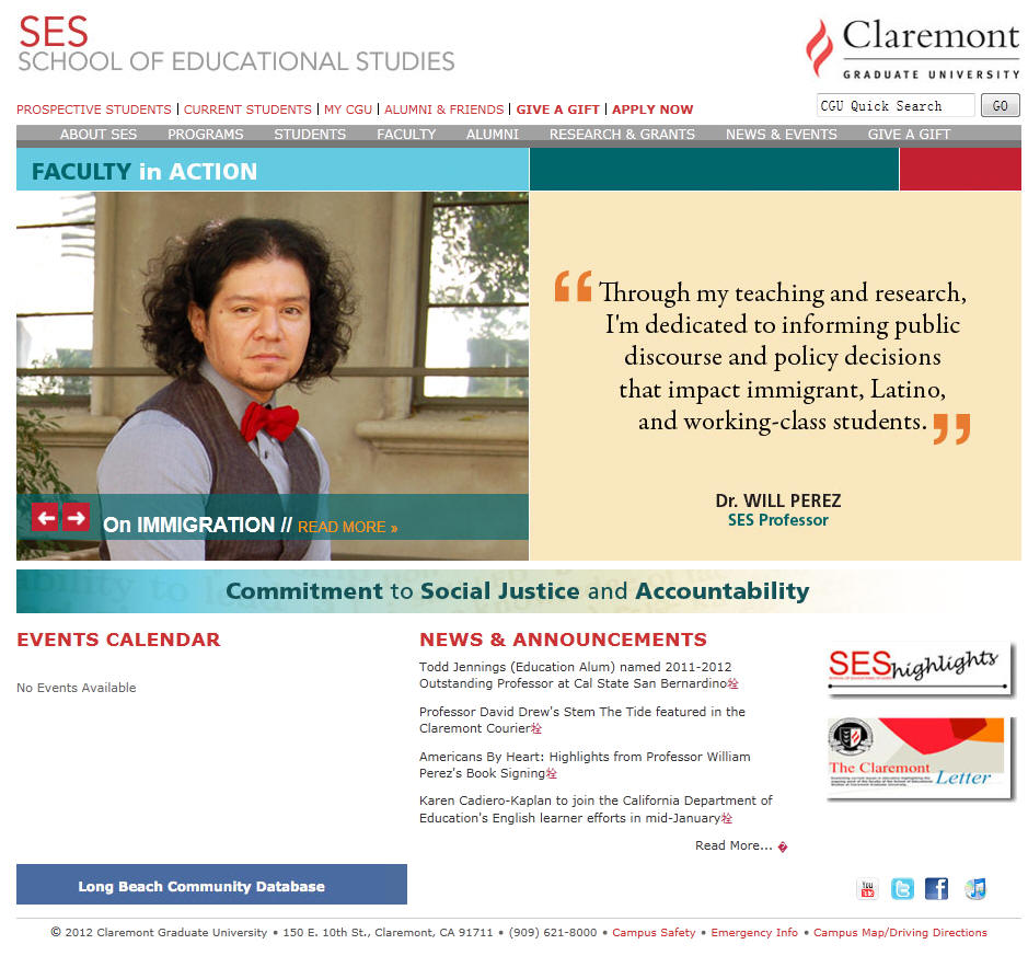 Claremont Graduate University School of Educational Studies