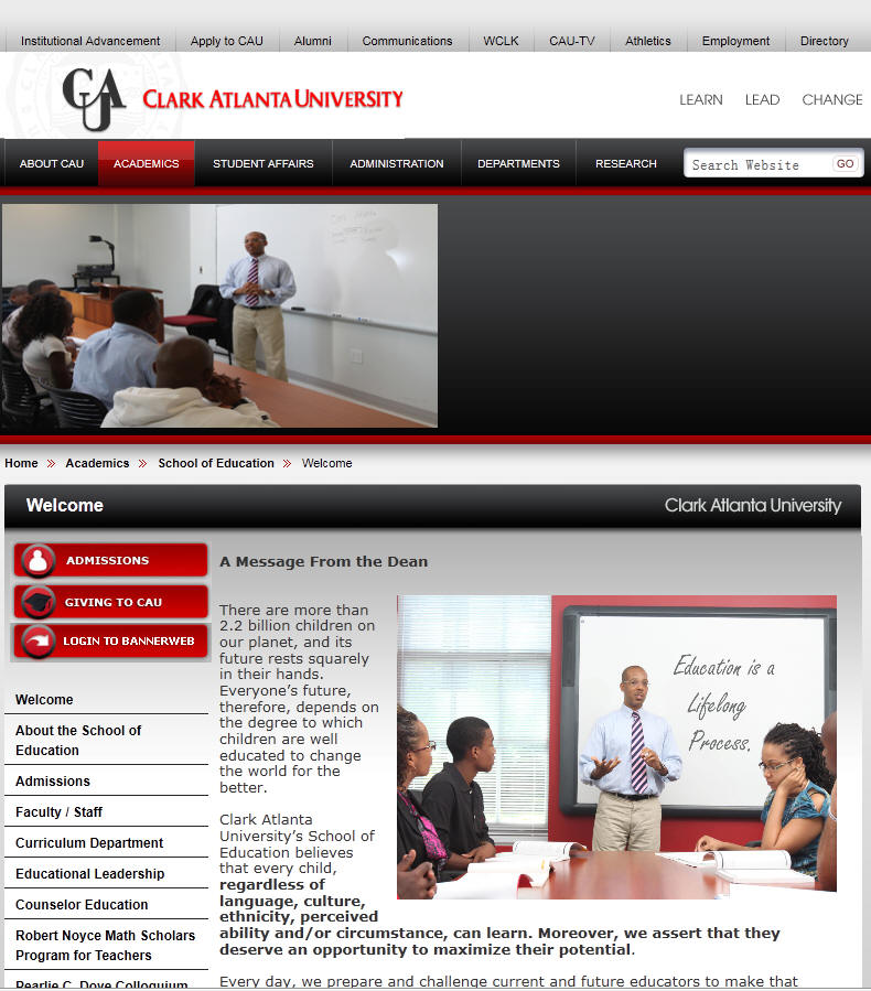 Clark Atlanta University School of Education