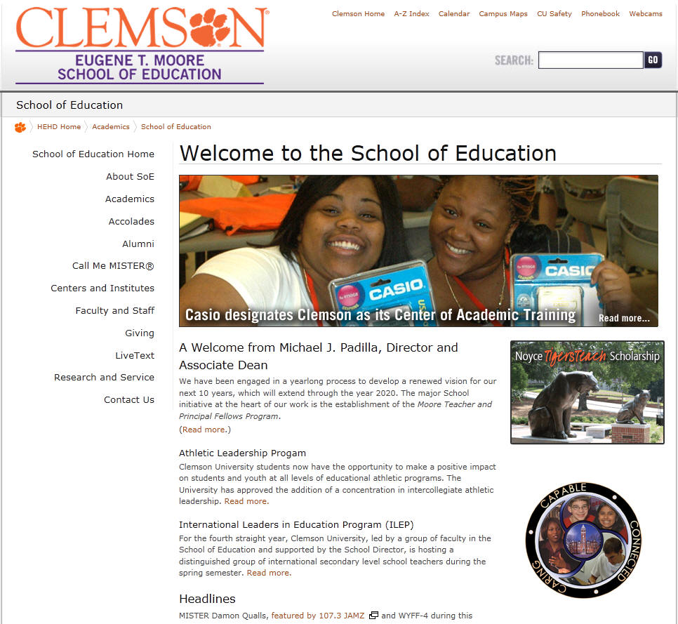 Clemson University School of Education