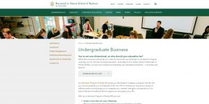 College of William and Mary Undergraduate Business