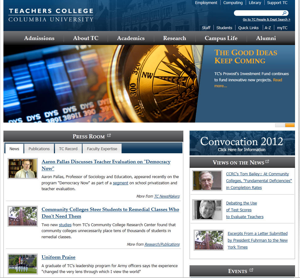 Columbia University Teachers College
