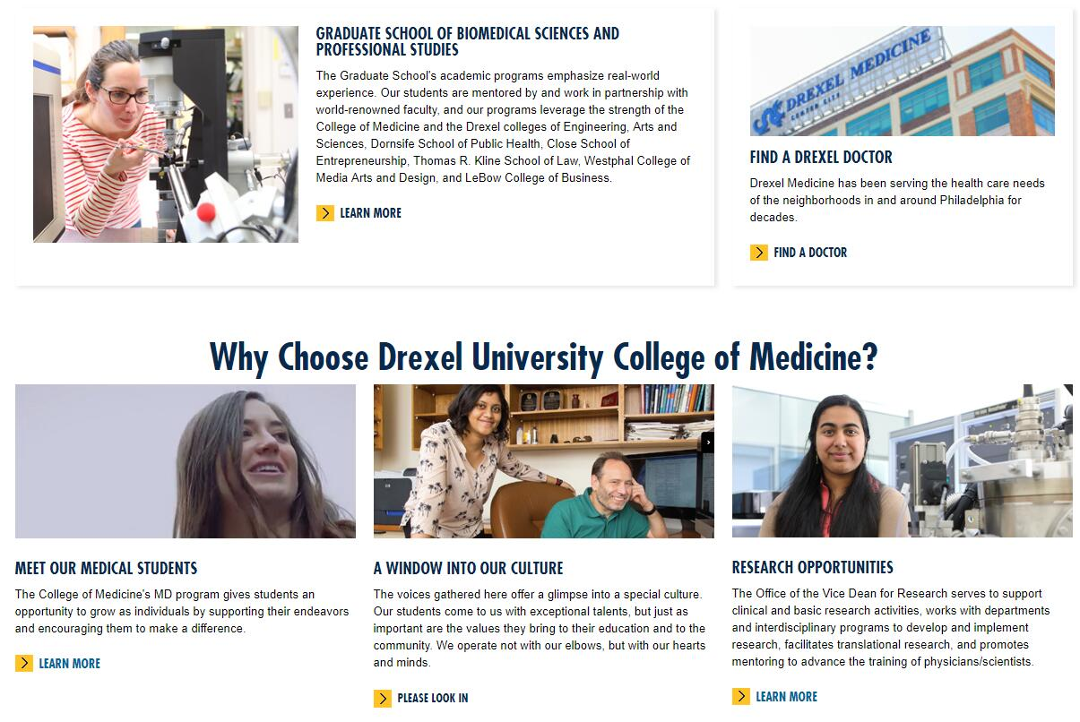 Drexel University College of Medicine Admissions Statistics and Rankings