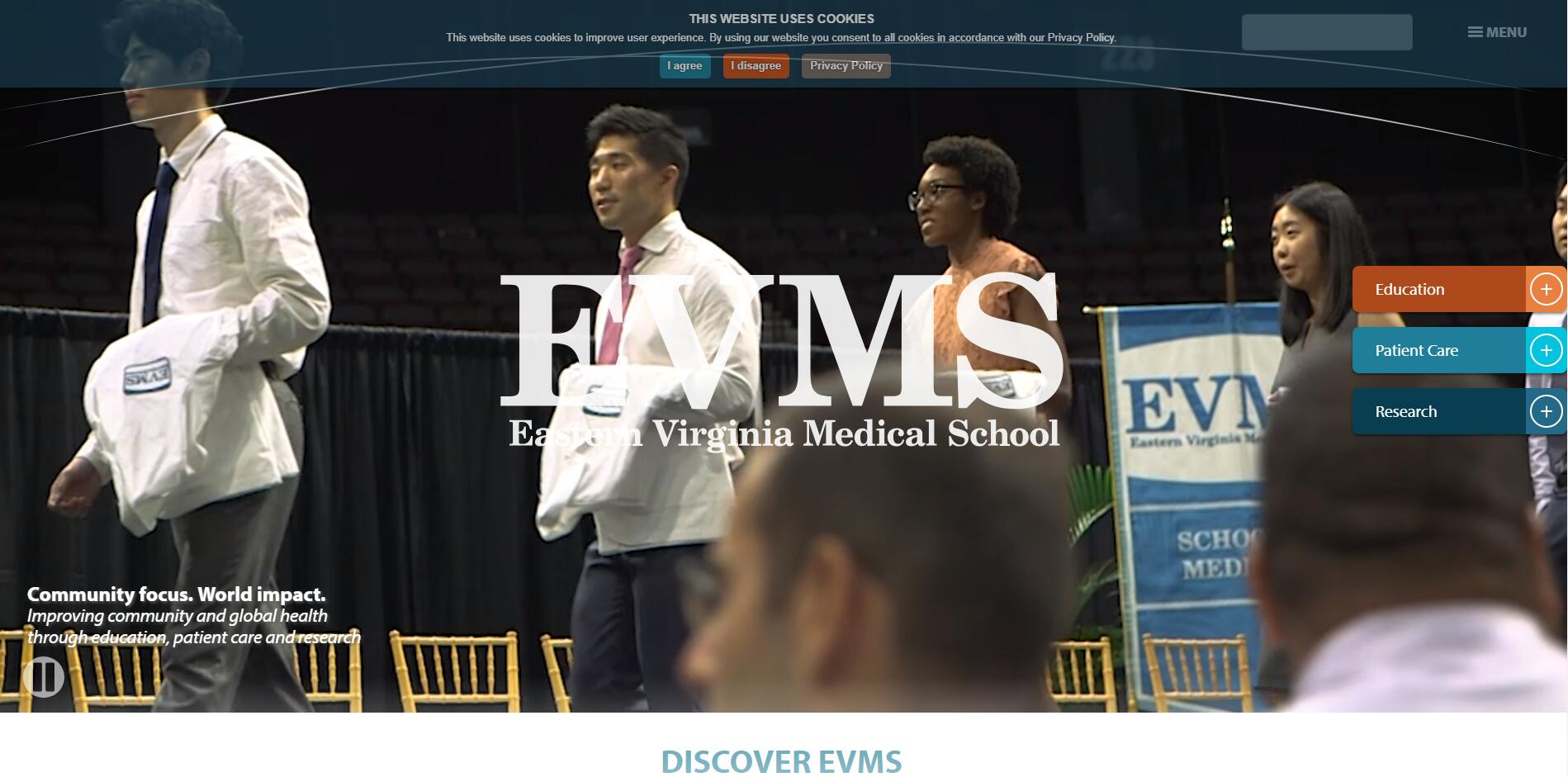 Eastern Virginia Medical School Admissions Statistics and Rankings