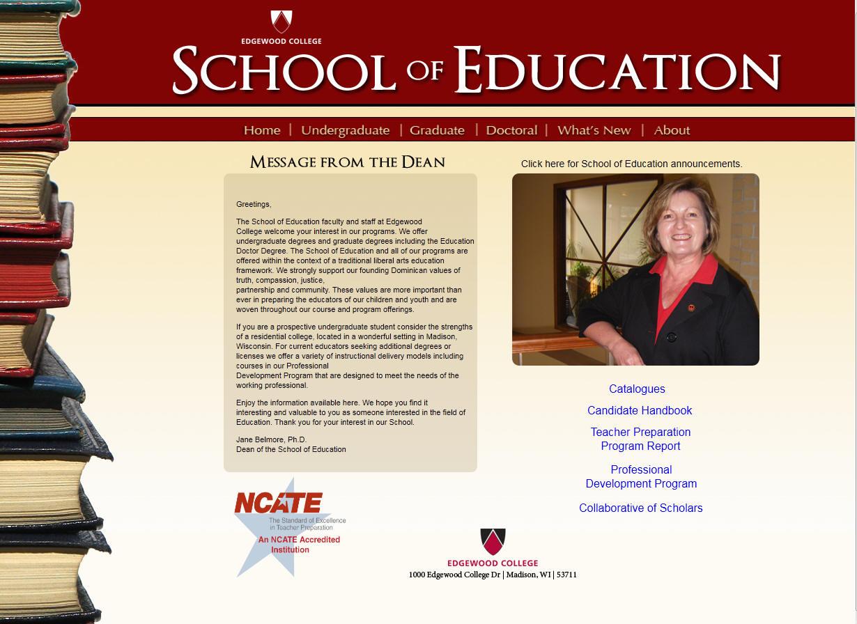 Edgewood College School of Education