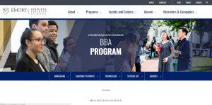 Emory University Undergraduate Business