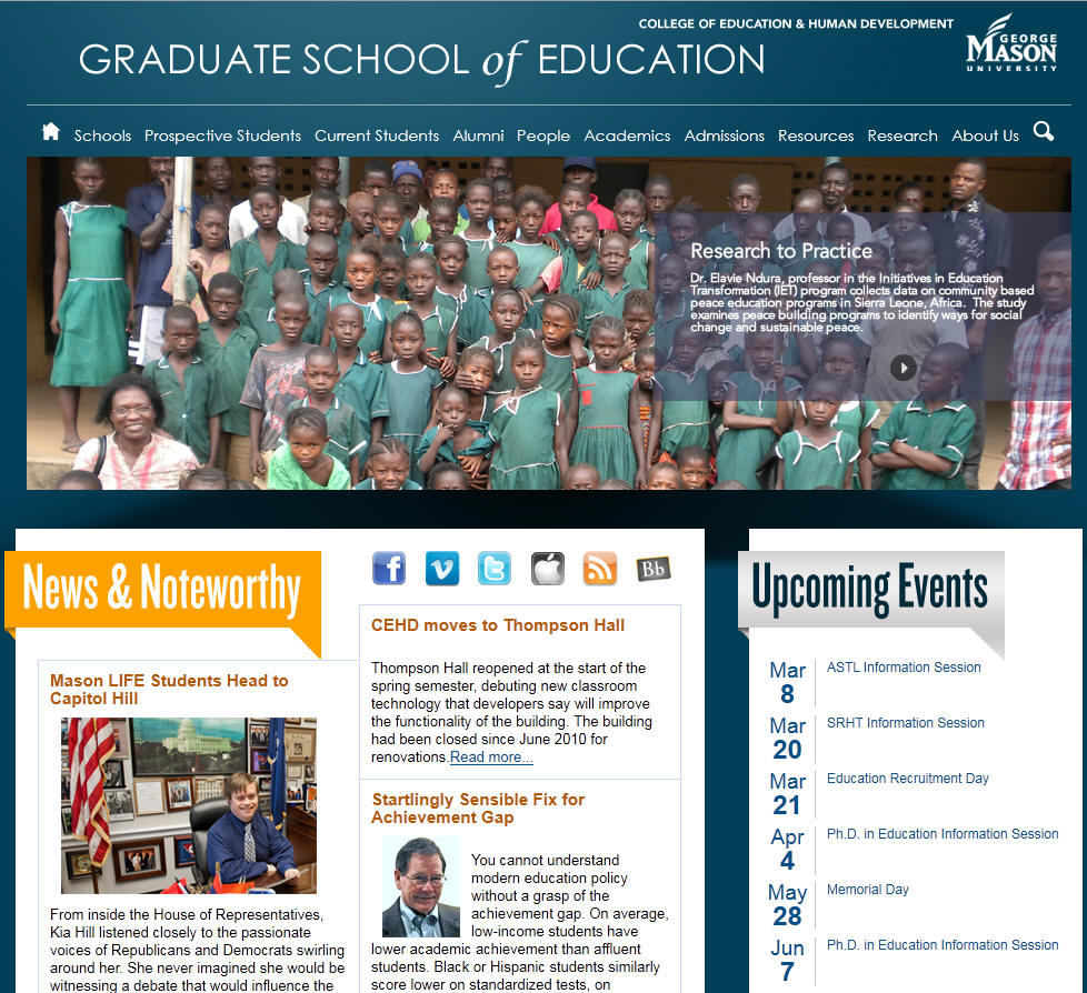 George Mason University Graduate School of Education