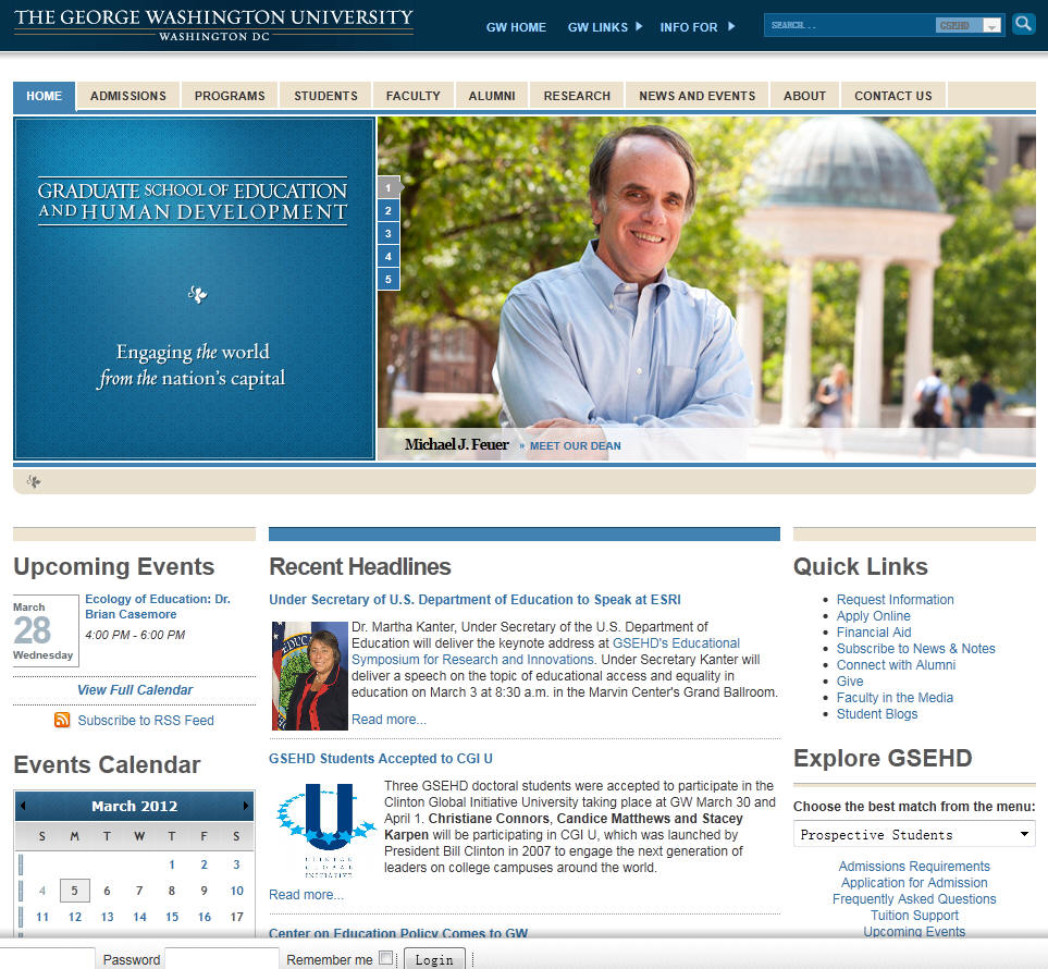 George Washington University Graduate School of Education and Human Development