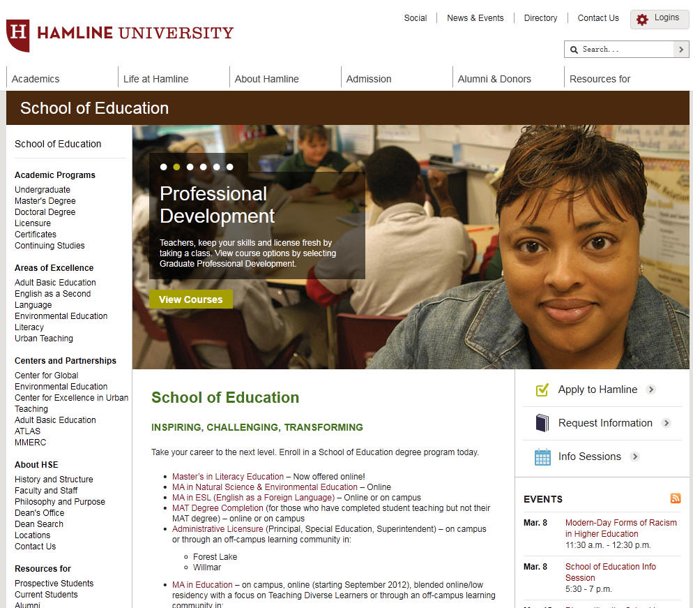 Hamline University School of Education