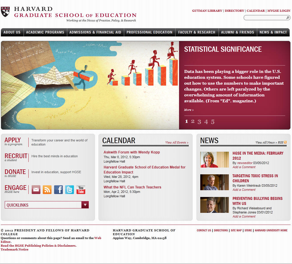Harvard University Graduate School of Education