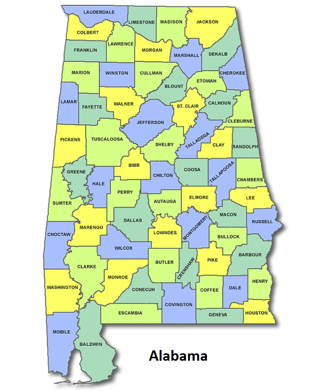 High School CEEB Codes in Alabama