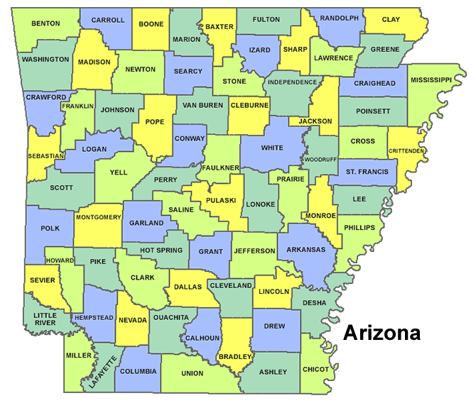 High School Codes in Arkansas