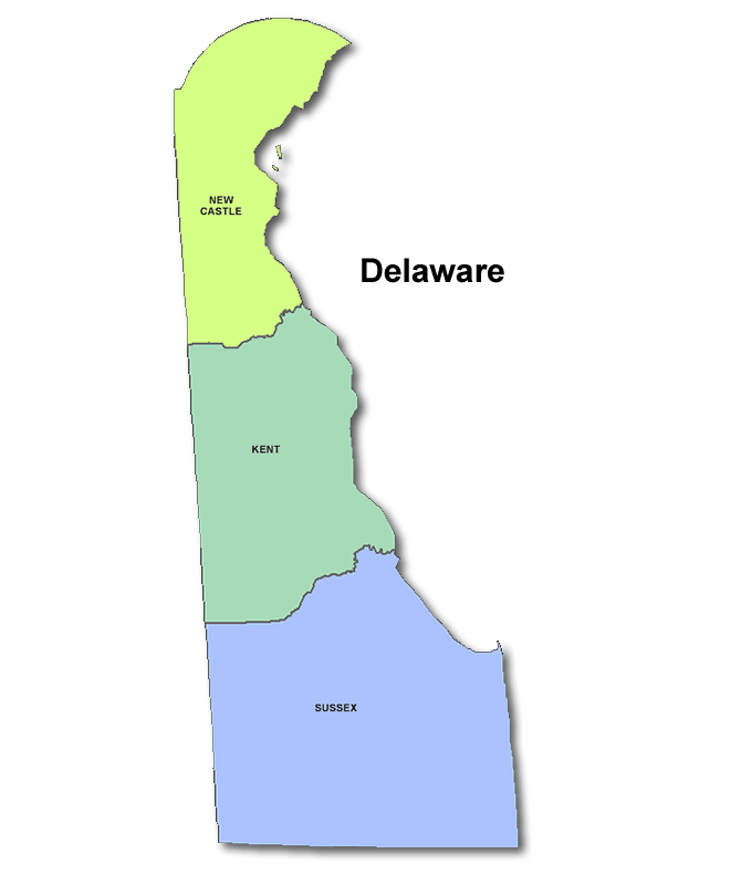 High School Codes in Delaware
