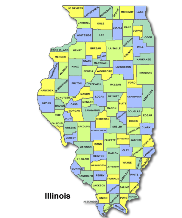 High School Codes in Illinois