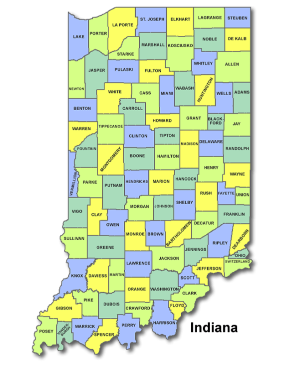 High School Codes in Indiana
