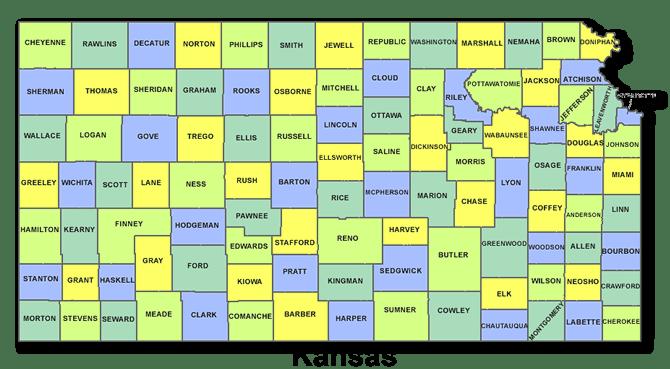 High School Codes in Kansas