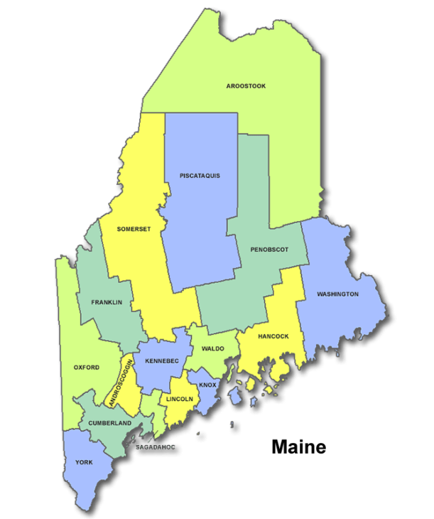High School Codes in Maine