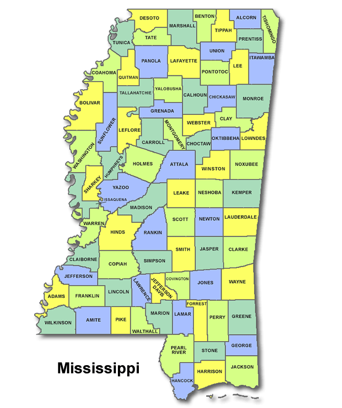 High School CEEB Codes in Mississippi