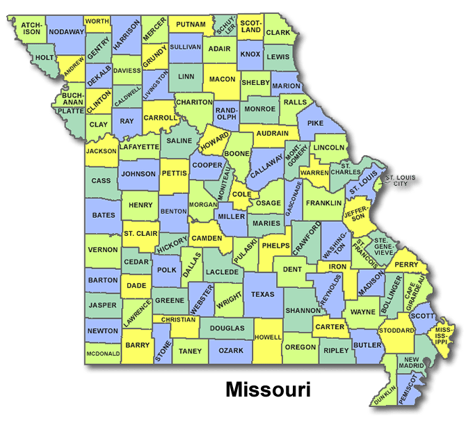 High School Codes in Missouri