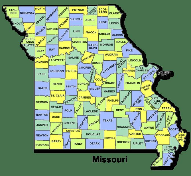 High School Codes in Missouri