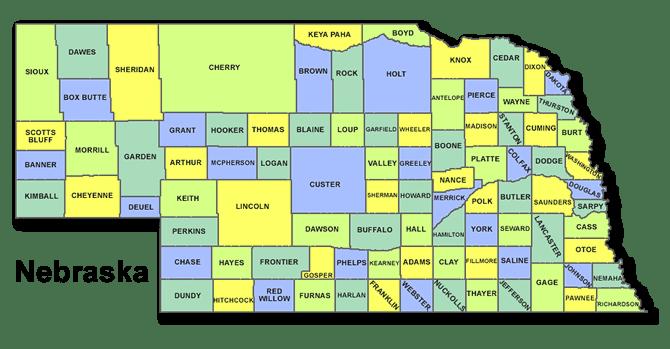 High School CEEB Codes in Nebraska