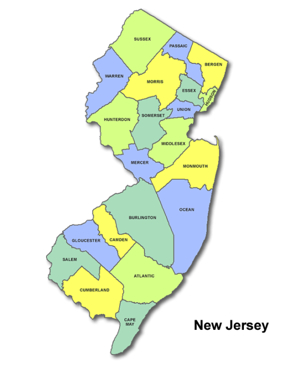 High School Codes in New Jersey