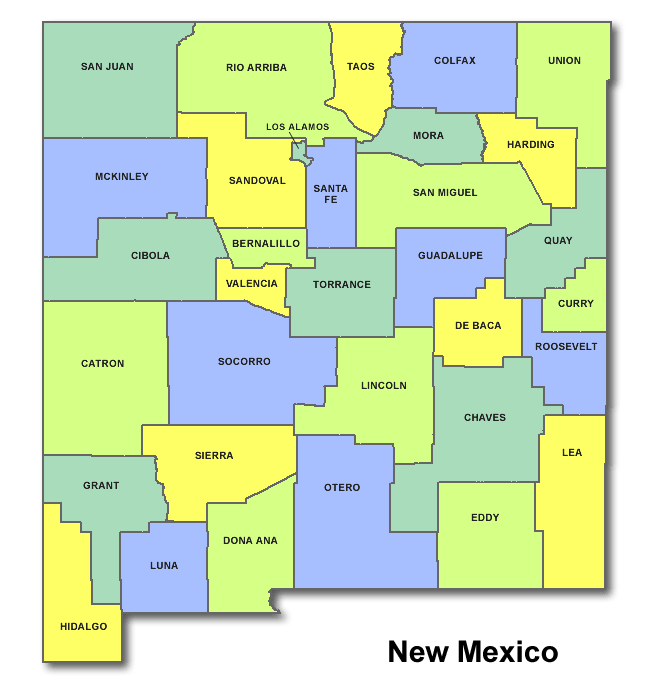 High School Codes in New Mexico