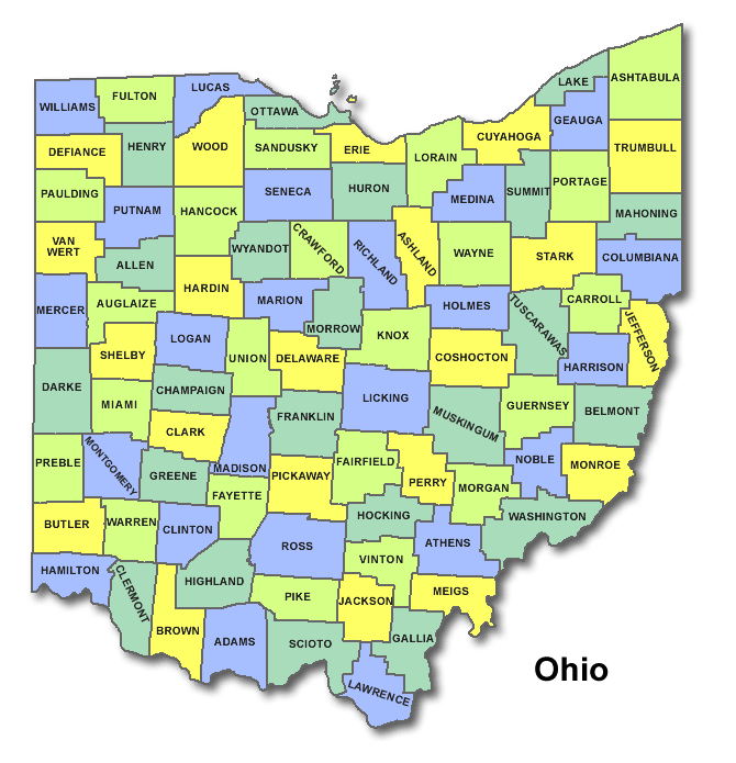 High School Codes in Ohio