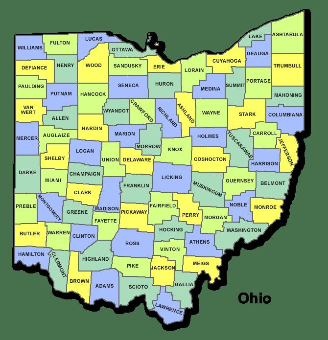 High School Codes in Ohio