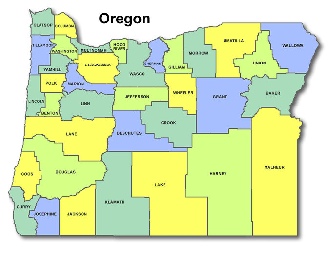 High School Codes in Oregon