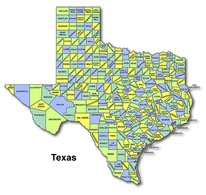 High School Codes in Texas