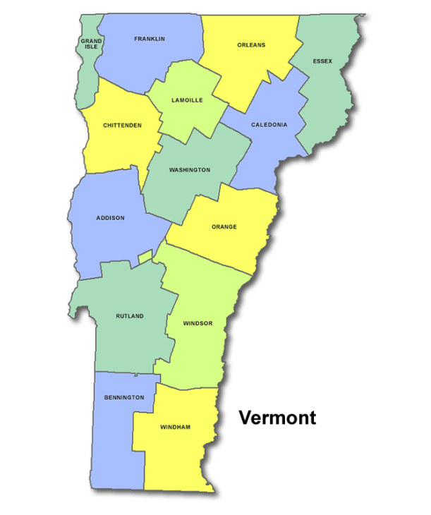 High School Codes in Vermont