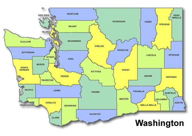 High School CEEB Codes in Washington