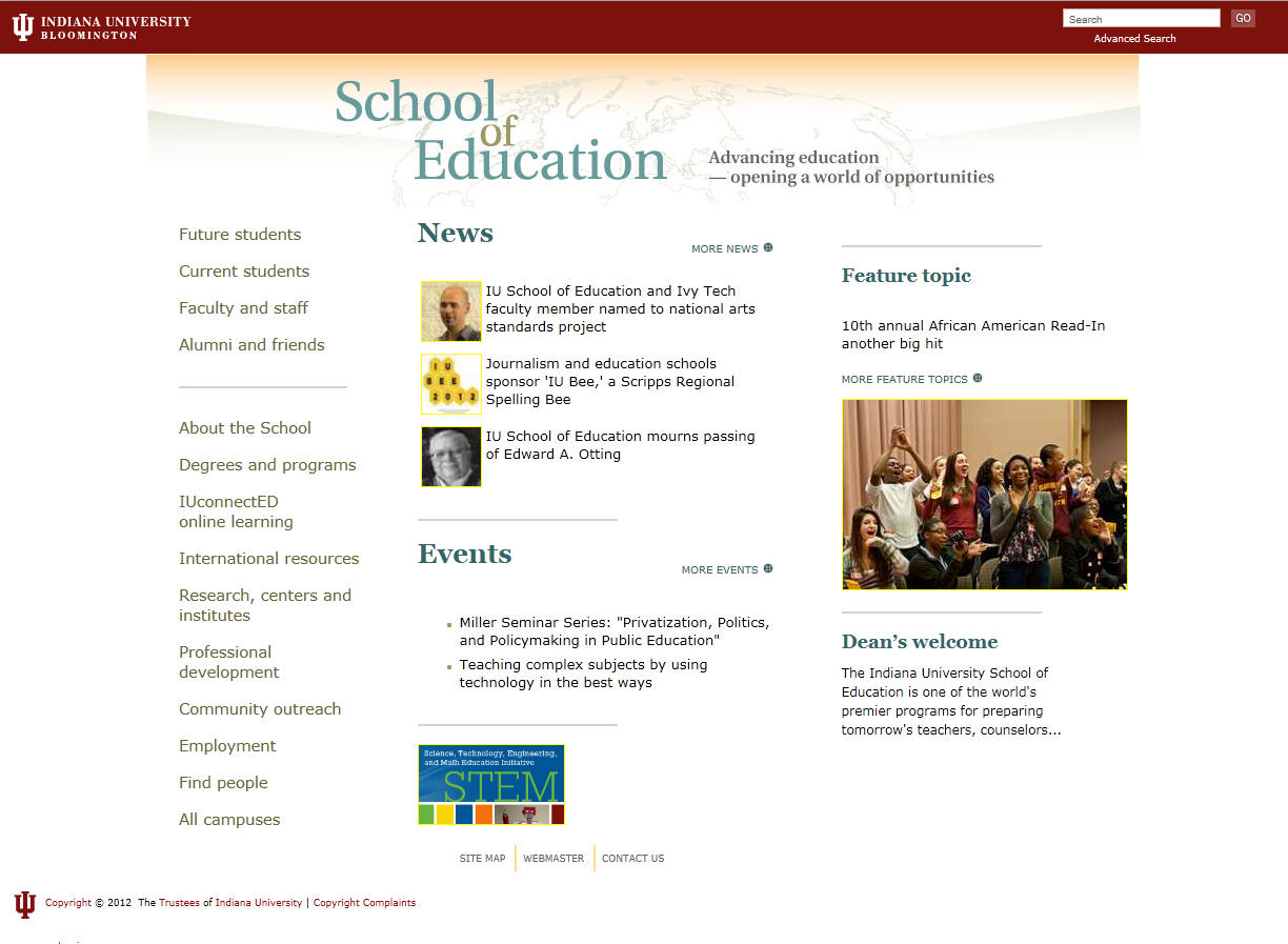 Indiana University Bloomington School of Education