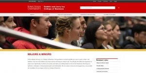 Iowa State University Undergraduate Business