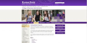 Kansas State University Undergraduate Business