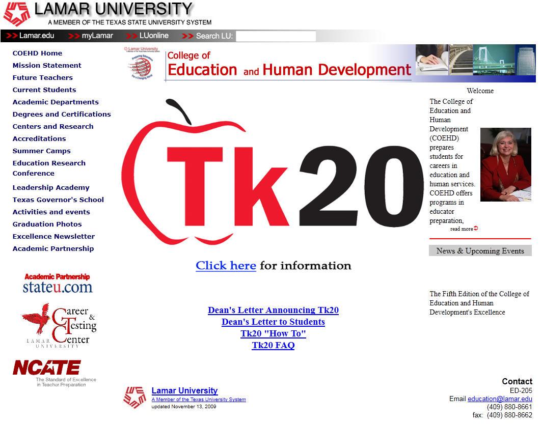 Lamar University College of Education
