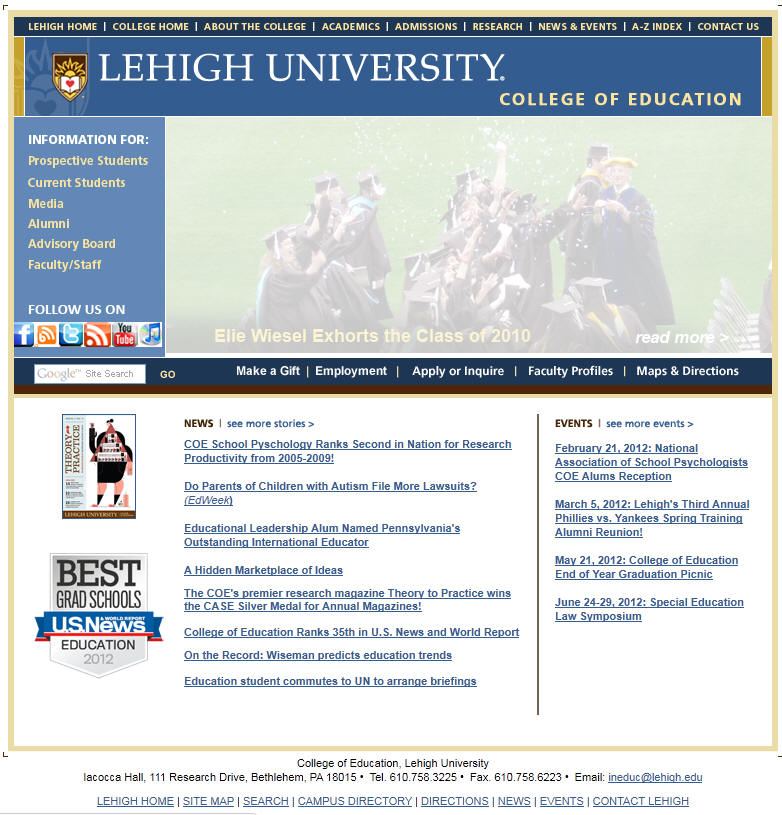 Lehigh University College of Education