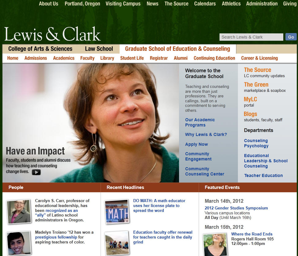 Lewis Clark College Graduate School of Education
