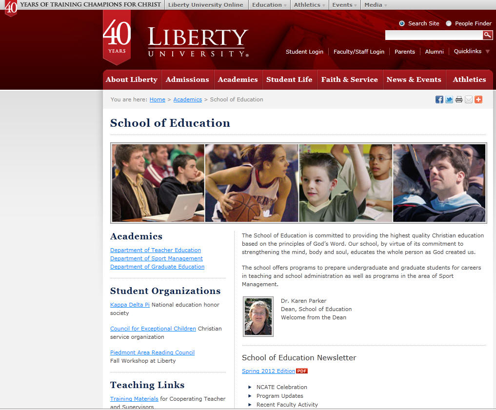 Liberty University School of Education