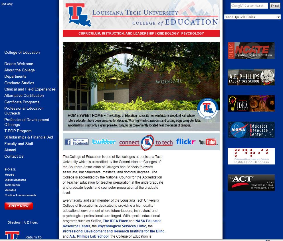 Louisiana Tech University College of Education